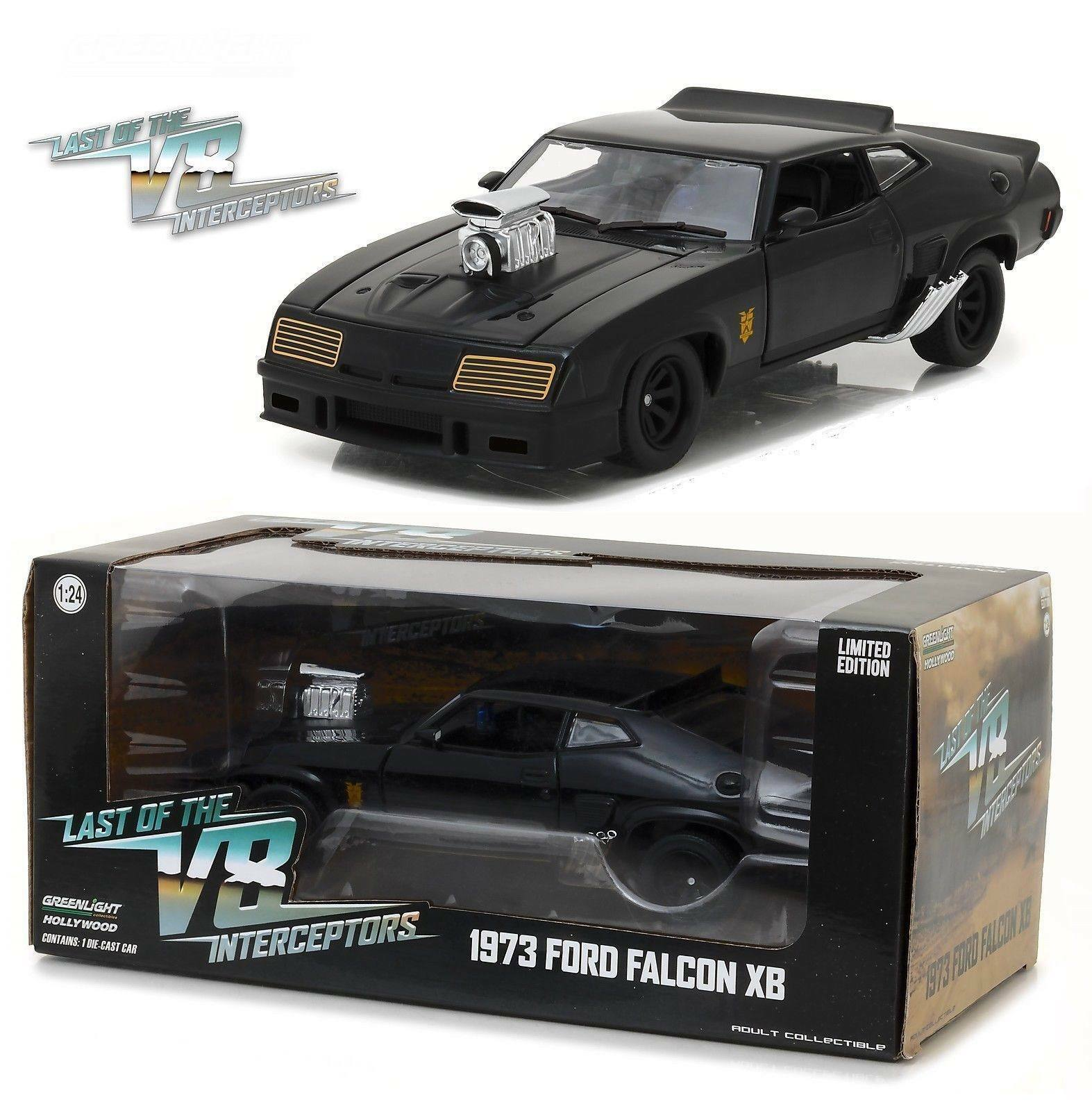 Voiture Mad Max FORD Falcon XB GT Coupé V8 Interceptors 1973 en Métal au 1 24