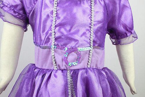 Sofia La Principessa Vestito Carnevale Dress up Costumes Sofia The First SOFC01