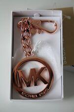 Michael Kors key charms portachiavi oro rosa