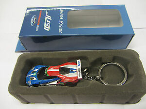 Image Is Loading Genuine Ford Gt Le Mans Key Ring