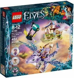LEGO-Elves-Aira-amp-the-Song-of-the-Wind-Dragon-2018-41193-Building-Kit-451-Pcs