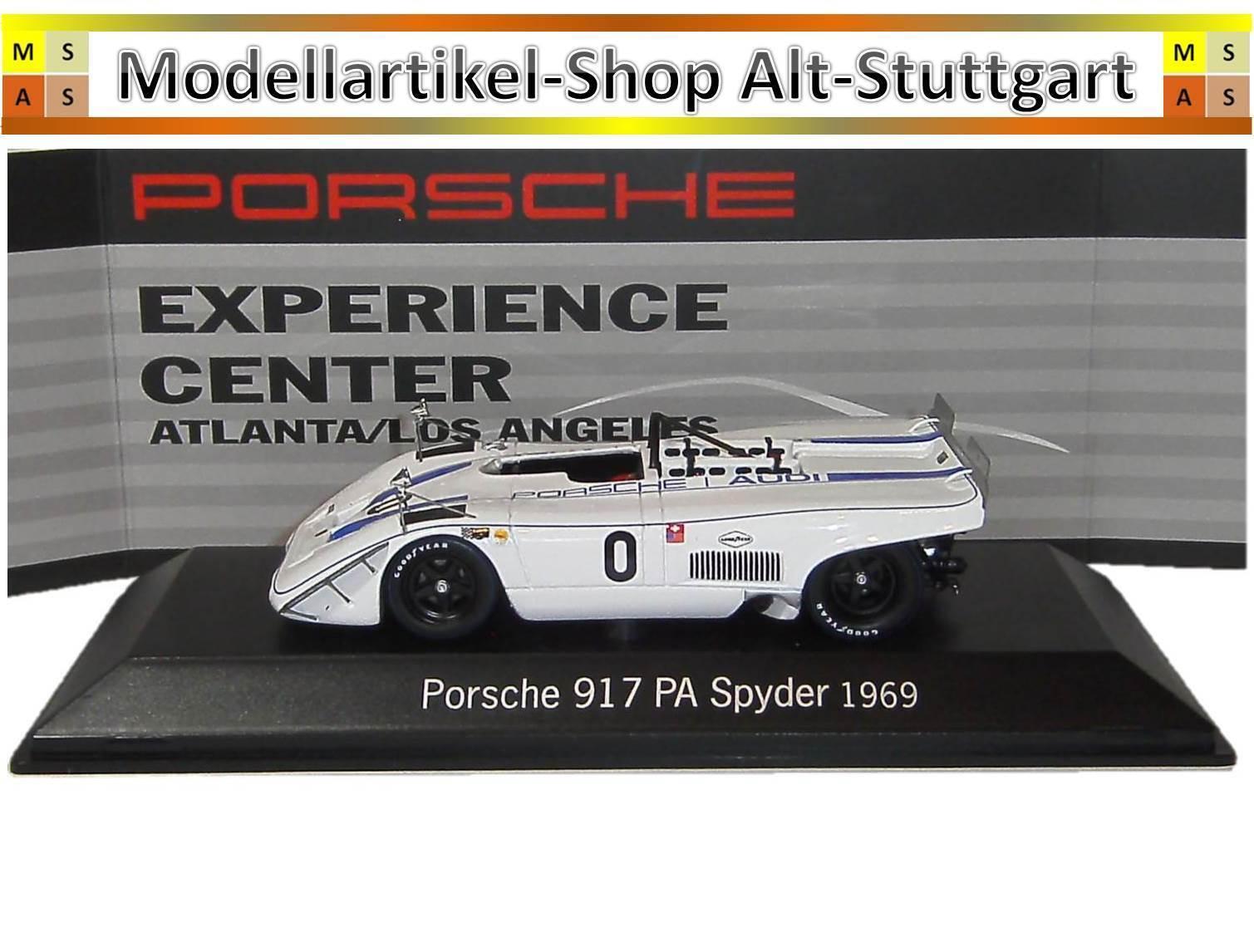 Porsche 917 PA Spyder  0 1969-Spark 1 43 - Musée Edition map02018815-Neuf