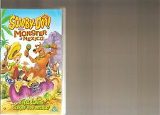 SCOOBY DOO AND THE MONSTER OF MEXICO VHS VIDEO