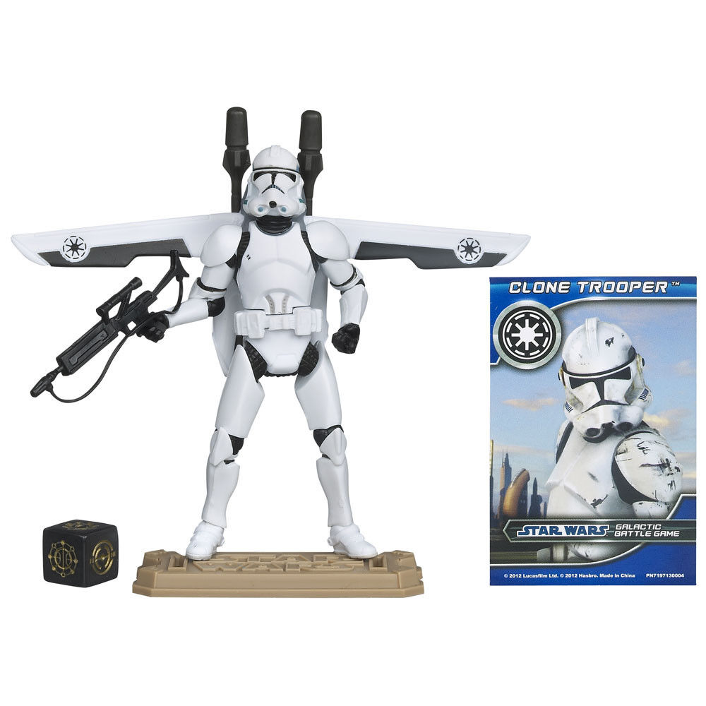 STAR WARS MOVIE HEROES CLONE TROOPER ACTION FIGURE