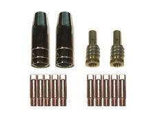Contact Tip Nozzle Parts Kit Fit Chicago Electric Welder Mig Gun 14ak