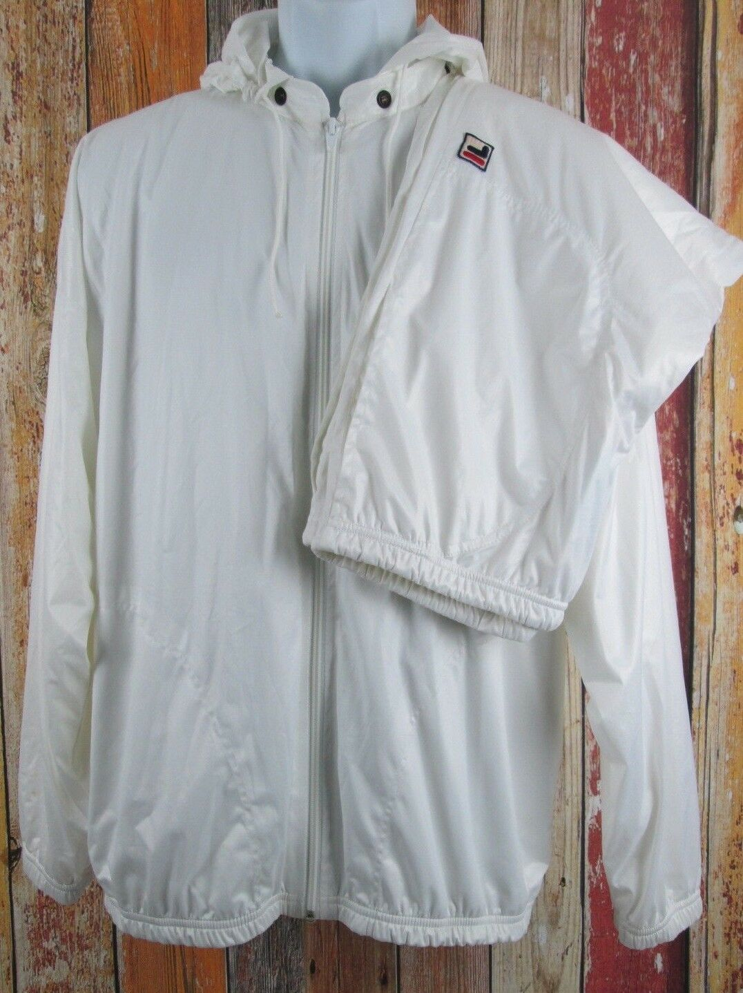 Vintage 80er Jahre Balance Nwt Fila Retro Joggen Trainingsanzug Größe 42  | Preisreduktion