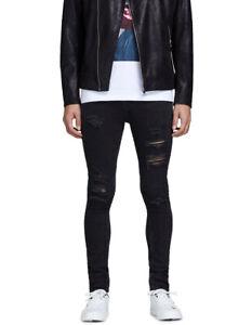 Jack & Jones Liam Original Black Denim Jeans