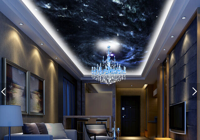 3D Shining Star Vortex WallPaper Murals Wall Print Decal Deco AJ WALLPAPER GB3