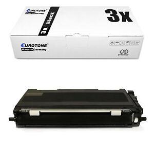 3x eurotone Eco Cartouche XXL Compatible Pour Brother mfc-l-2701-dw hl-l-2340-dw