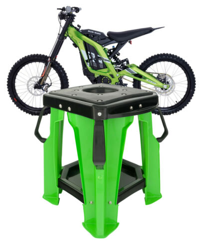 RED NEW SUR RON LB X-SERIES ELECTRIC DIRTBIKE PRO RIDGE STAND
