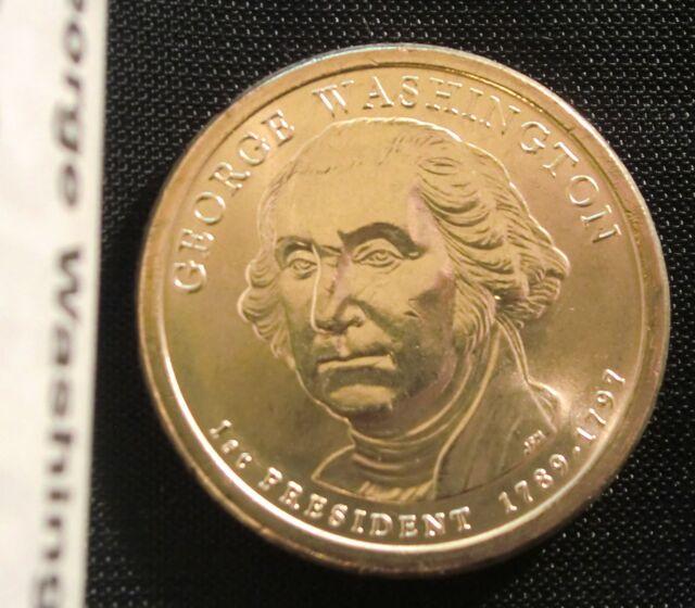 P  $1 George Washington  Presidential Dollar 2007