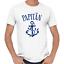 Papitaen-Papa-Vater-Anker-Kapitan-Captain-Vatertagsgeschenk-Lustig-Comedy-T-Shirt Indexbild 3