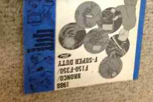1988 Ford TRUCK F-150 F-250 F 150 F250 BRONCO Wiring ...