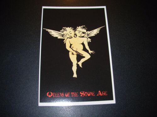 QUEENS OF THE STONE AGE Angels 2005 Handbill Postcard Print poster Hutch