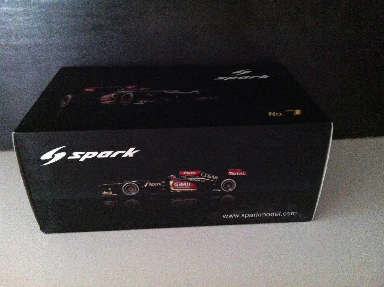 El nuevo outlet de marcas online. Lotus Renault E21 Raikkonen F1 2013 Spark 1 1 1 18  todos los bienes son especiales
