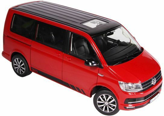 NZG VOLKSWAGEN VW T6 MULTIVAN RED EDITION 30 1-18 SCALE 9542 10