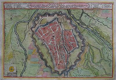 Augsburg - Augspurg - Ansicht Von Gabriel Bodenehr - Original Von 1720