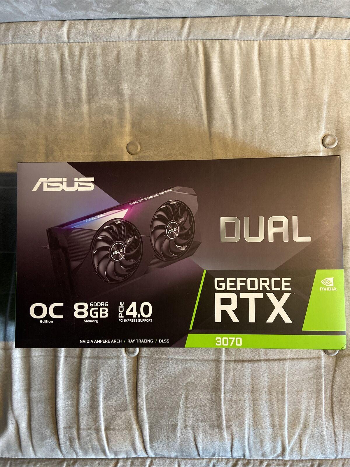 ASUS DUAL GeForce RTX 3070 OC 8GB GDDR6 Graphics Card