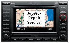 Chrysler Dodge REC navigation nav GPS radio joystick controller repair service