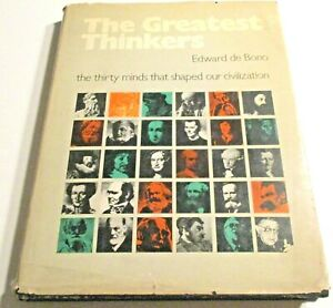 The GREATEST THINKERS: THE 30 MINDS THAT SHAPED Our CIVILIZATION- HC/DJ-