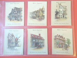 1939-Wills-OLD-INNS-vintage-pubs-2nd-series-set-40-cards-Tobacco-Cigarette