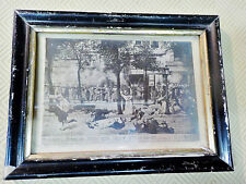Cadre photo Napoléon III-Massacre des Dominicains1871/ Appert/ Commune de Paris