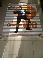 AFFICHE LA GRANDE VIE 4x6 Glossy Vinyl French Movie Poster Original 2009
