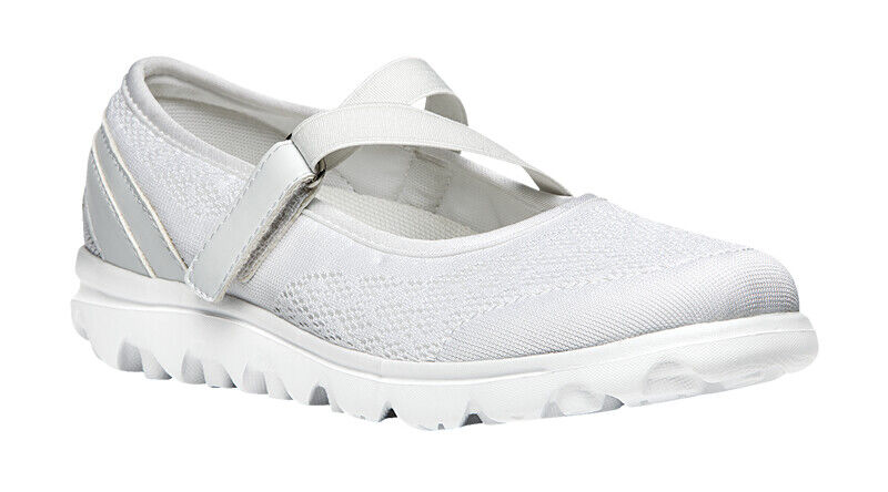 Propet Women's TravelActiv Mary Jane Walking shoes  White Size 7 BRAND New in Box