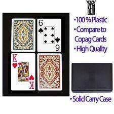 KEM Paisley Bridge Size-jumbo Index Playing Cards 2 Set Missing 1 Black Card 9