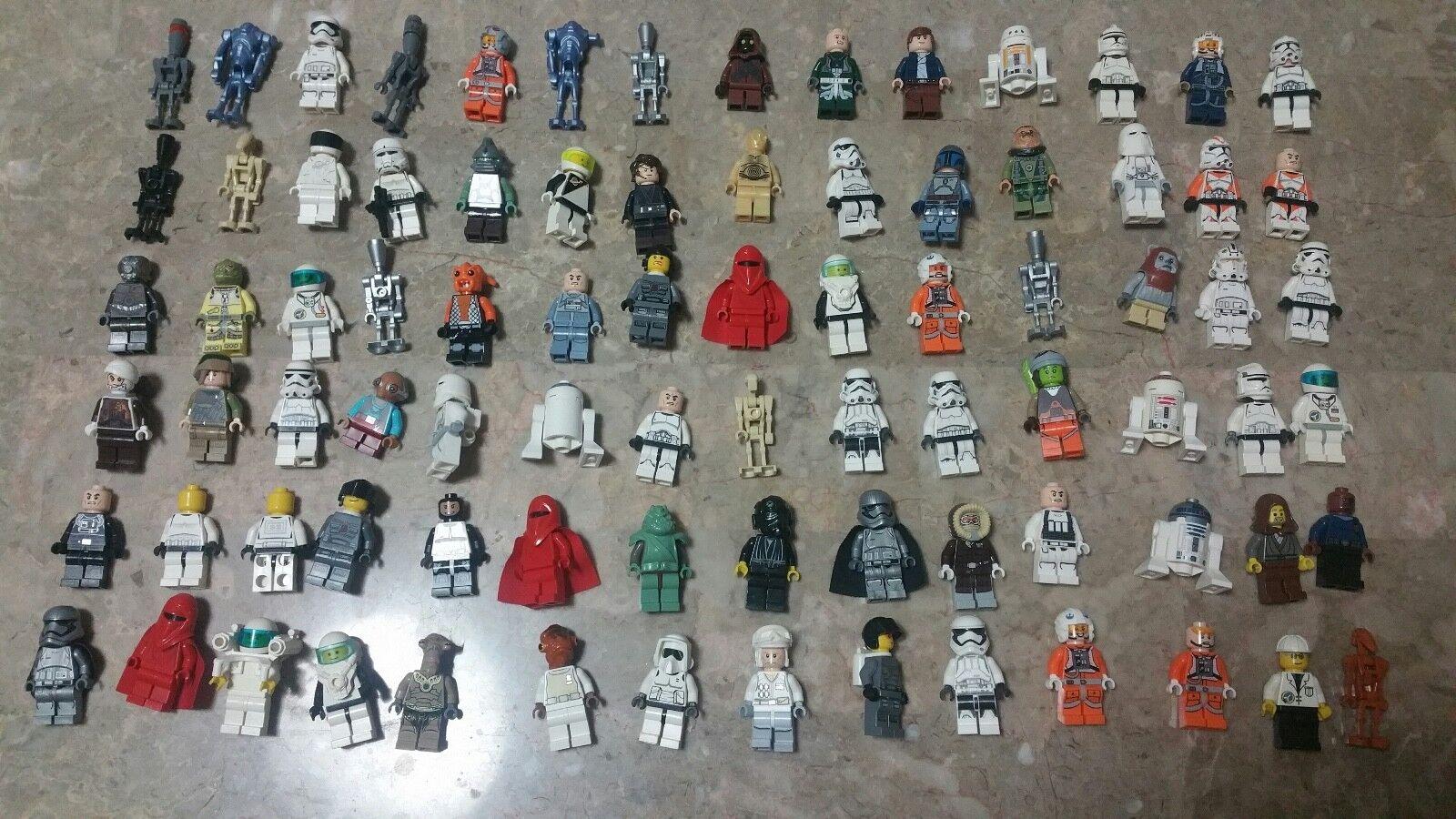 Enorme Mixto LEGO Rebajado    84PCS, Star Wars Y Otros Minifiguras