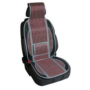 Fresco-classic schienale a molle in fibra naturale di cellulosa rosso auto 17k