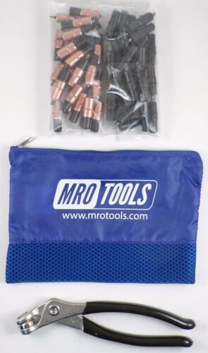 Pliers w Mesh Bag KK4S50-2 25 1//8 /& 25 5//32 Extra Short Cleco Fasteners