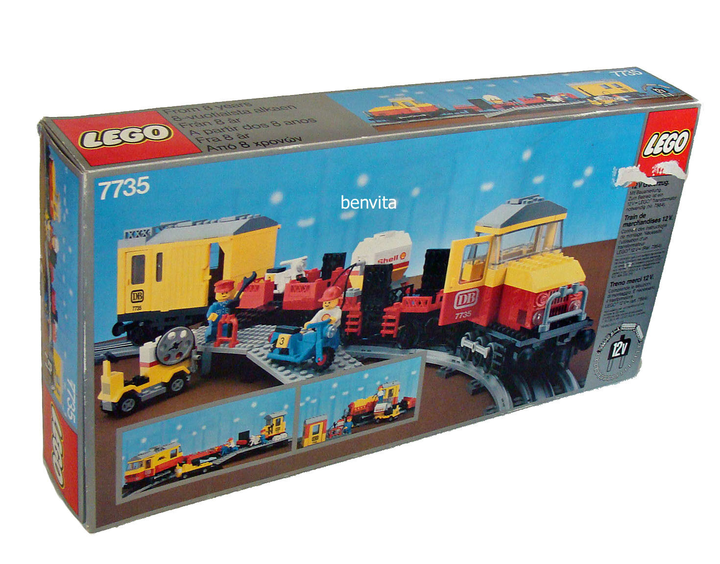 Lego® 7735 - 12V Güterzug 509 Teile Teile Teile 8+ - Neu f2e7af