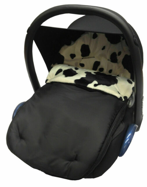 Animal Print Footmuff Cosy Toes Compatible with Pushchiar Cow