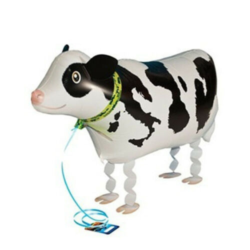 Cow Pet Helium Walking Foil balloon Animal balloon for party decoration Toy