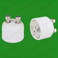 20x GU10 To MR16 GU5.3 Light Bulb Base Socket Lamp Adaptor Converter Holder