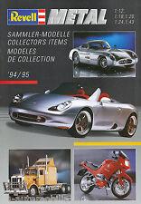 Katalog Revell Modellautos Metal 1994 1995 catalog model car Broschüre Prospekt