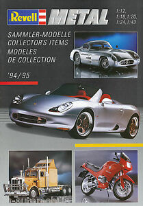 Revell-Modellautos-Metal-Katalog-1994-1995-catalog-model-car-Broschuere-Prospekt