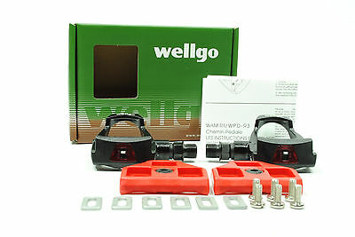 WELLGO COMP ROAD BIKE PEDALS W-40 CLIPLESS LOOK W40
