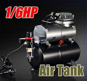 1/6HP Air Compressor for Spray Gun Air Brush AS-186