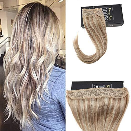 human hair extensions ash blonde