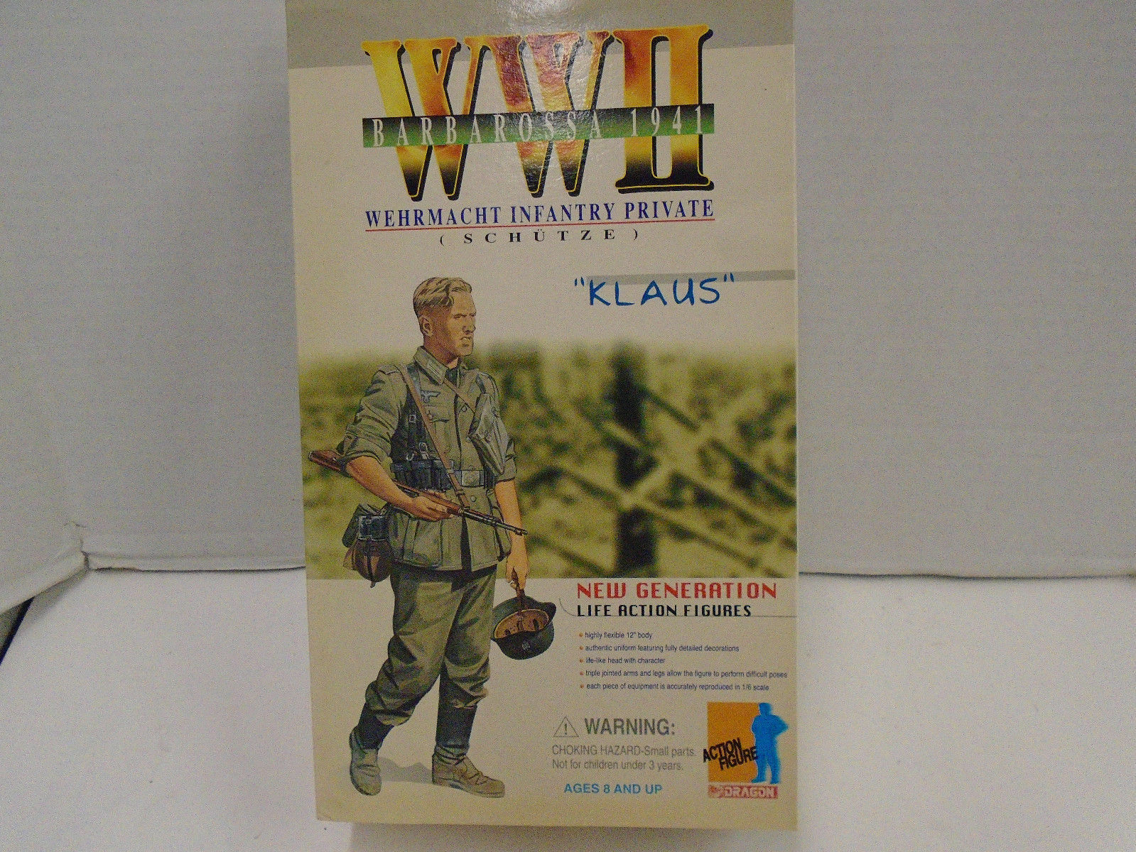 Dragon 1 6 WWII German Wehrmacht Infantry Private Klaus