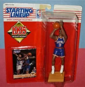 1995 JOHN STARKS #3 New York Knicks NM- Rookie *FREE_s/h* sole Starting Lineup