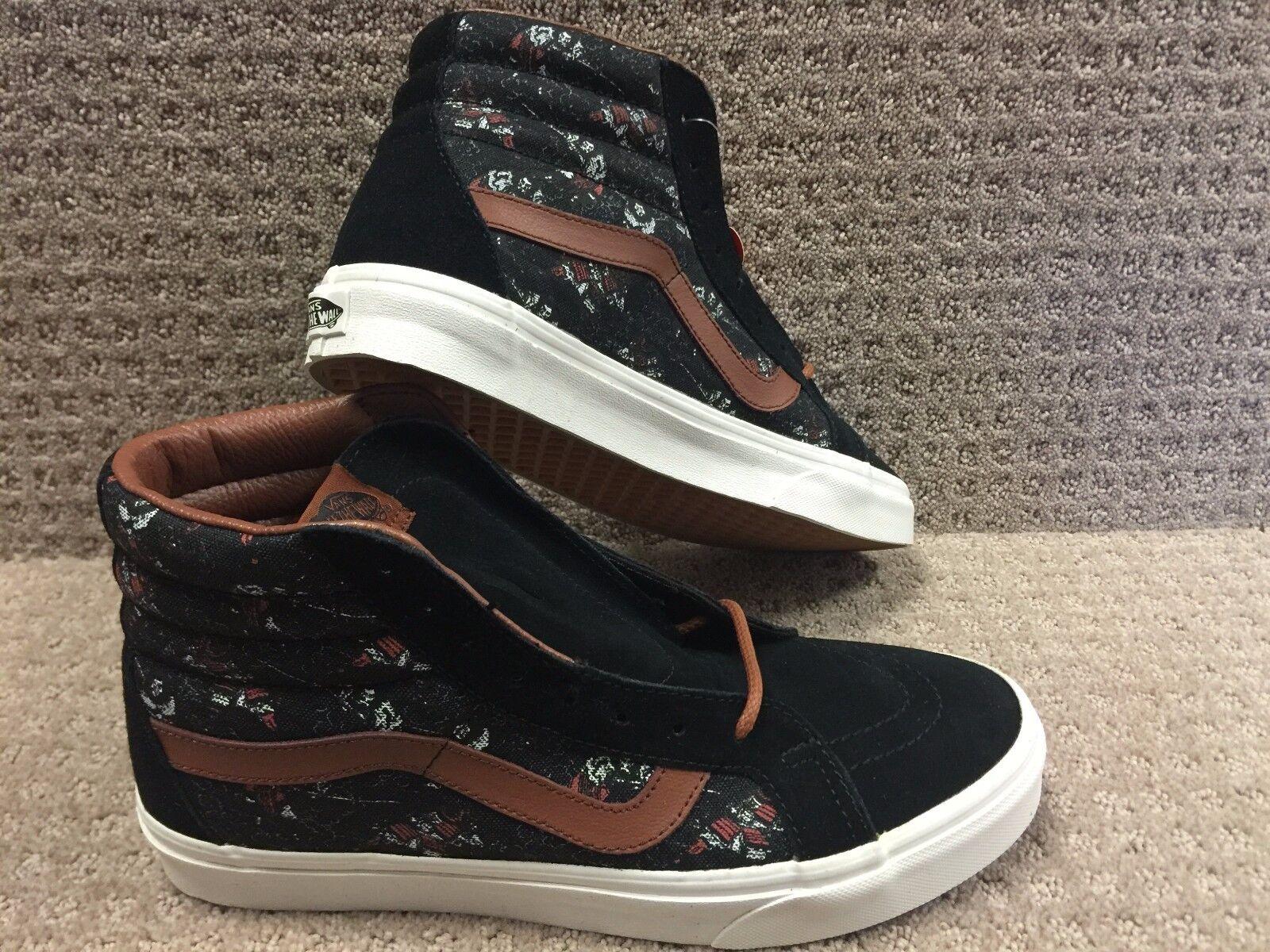 Vans Men's shoes  Sk8-Hi Reissue  (Samurai Warrior) Black