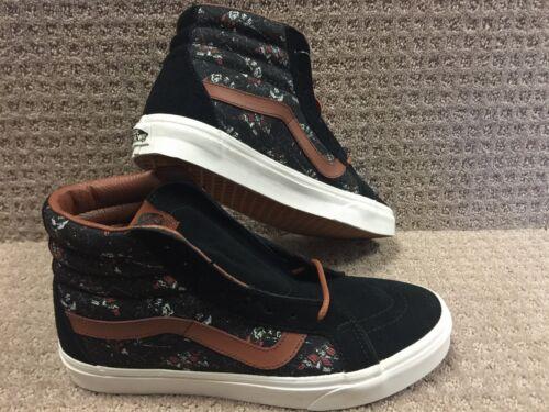 Vans guerrero Samurái Reissue Hombre hi Negro Zapatos Sk8 ZrOqpZ1vEw