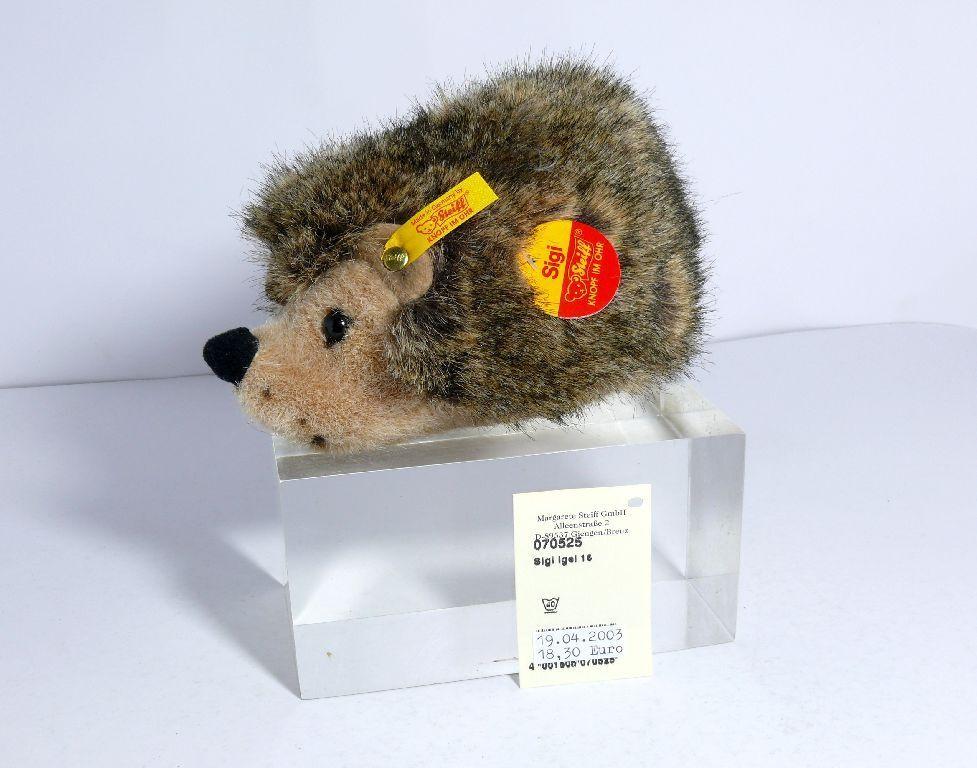 Steiff 070525 Hedgehog Sigi 16 cm Hedgehog Top