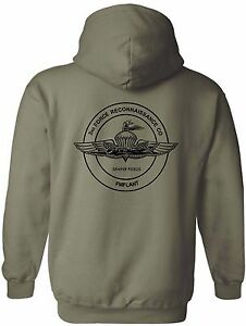 USMC United States Marine Corps Recon - 2nd Force Reconnaissance Company Hoodie