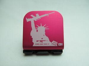We The People Are Pissed Laser Etched Aluminum Hat Clip Brim-it