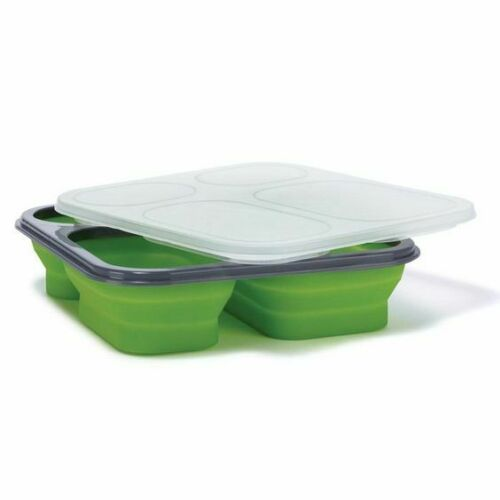 Food Storage Container Collapsible Portion Control Travel Dieting Dish Weight