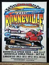 New Hot Rod Poster 11x17 John Cobb Land Speed Racing Bonneville Record